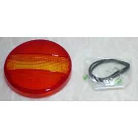 Ersatzglas zu SIM LED Schlussleuchte rund