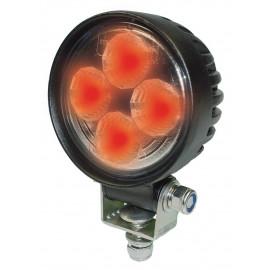 LED Scheinwerfer rot für Salzstreuerbeleuchtung