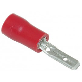 Flachsteckzunge isoliert 2.8mm