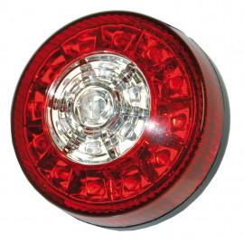 LED Schlussleuchte rund 80mm