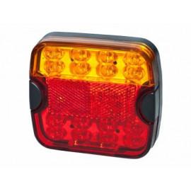 LED Schlussleuchte 105x94, 10-30V DC