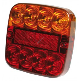 LED-Schlussleuchte 107x107mm 12V