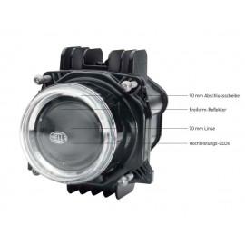 Bi-LED Modul, Abblend- und Fernlicht Scheinwerfer 90mm Hella