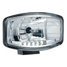 Fernscheinwerfer Jumbo 320FF H7 mit LED Positionslicht Hella