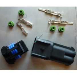 Steckersatz 2-polig 20A bis 2.5mm2