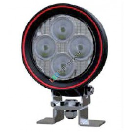 LED Arbeitsscheinwerfer rund 40W Weldex, 5 Jahre Garantie