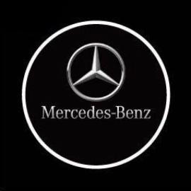 Logo Beamer Mercedes 12-24V
