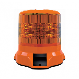 LED Rundumleuchte, Blitzleuchte orange 75W Weldex
