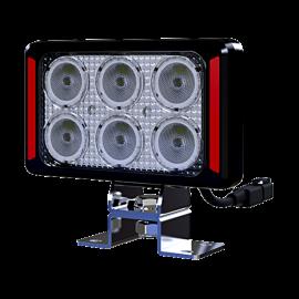 LED Arbeitsscheinwerfer rechteckig 20W Weldex