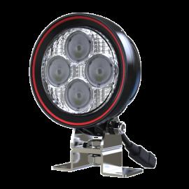 LED Arbeits- Rückfahrscheinwerfer rund 20W Weldex, 5 Jahre Garantie