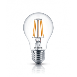 Philips LED-Lampe Filament E27 A60 60W