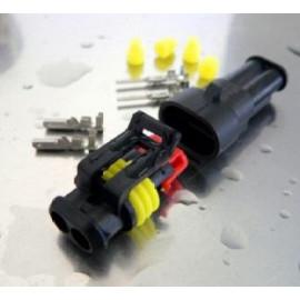 Steckersatz 2-polig IP67 10A
