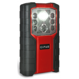 Akku LED Taschenlampe mit Notleuchten Funktion