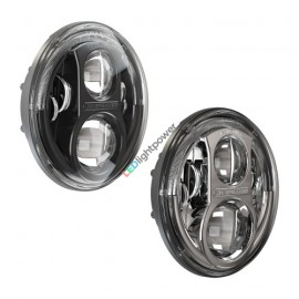 "LED Hauptscheinwerfer 7"" Speaker 8700 Evolution J2, Jeep Set"
