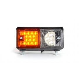 LED Multifunktionsleuchte, Blinker mit Standlicht 12/24V, rechts