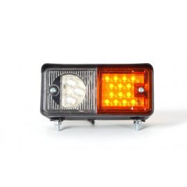LED Multifunktionsleuchte, Blinker mit Standlicht 12/24V, links