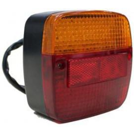 Agri LED Schlussleuchte 115x115mm, 9-30V