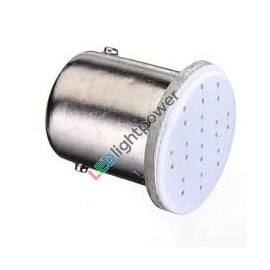 LED COB Birne BA15S 12V rot, 5W Ersatz