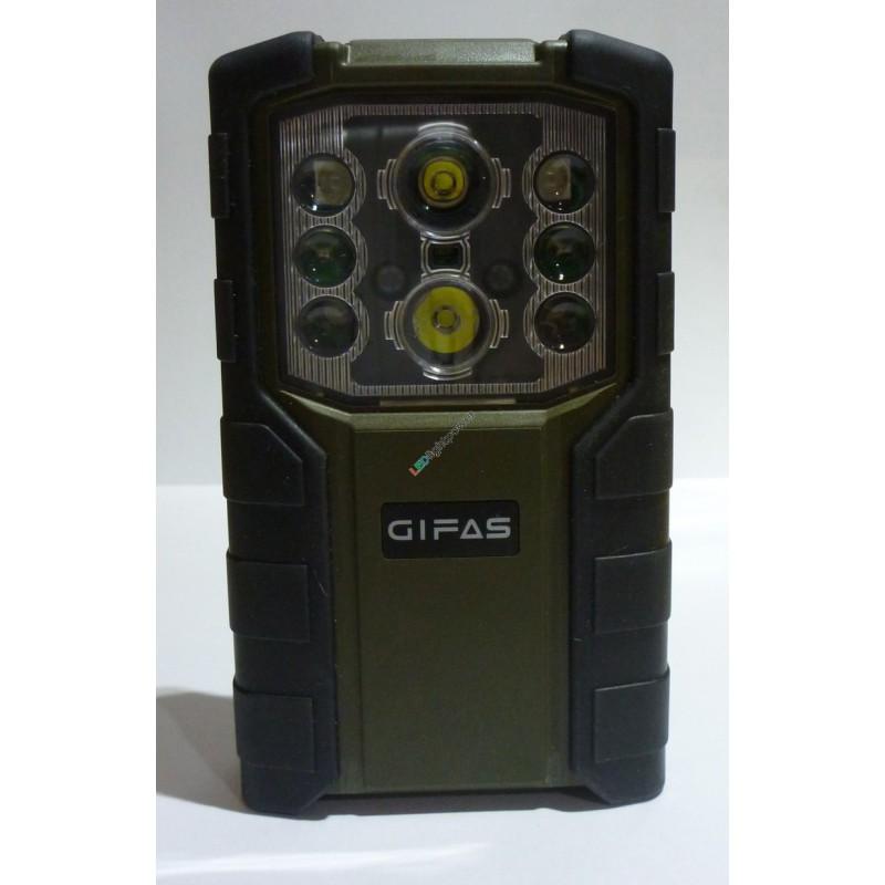 Akku LED Taschenlampe Ausführung Schweizer Armee