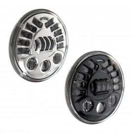 """LED Hauptscheinwerfer 7"""" Speaker Model 8790 Adaptive 2, für Motorrad, adaptives Licht"""
