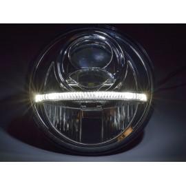 """LED Hauptscheinwerfer 7"""" Nolden 2. Generation mit Tagfahrlicht"""