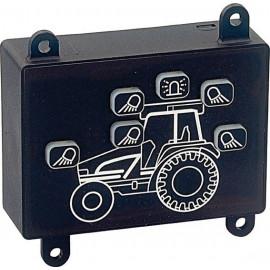 Bedienpanel für Arbeitsscheinwerfer am Traktor