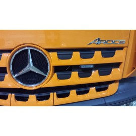Montagehalterungs Set für LED Frontblitzer Hella BST zu Mercedes Benz AROCS