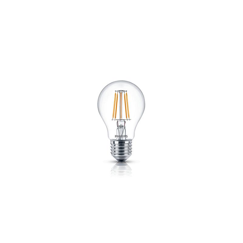 Philips LED-Lampe Filament E27 A60 60W