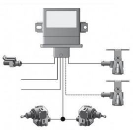 HELLA Leuchtweitenregler-Kit Universal 12V/24V (2 Sensor HA+VA)