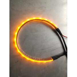 LED Warnbeleuchtungs Set gelb blinkend für Kranstützen
