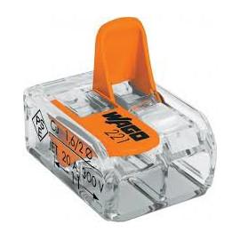 Spezialverbinder WAGO Compact Klemme 2-polig, 0,2-4mm²