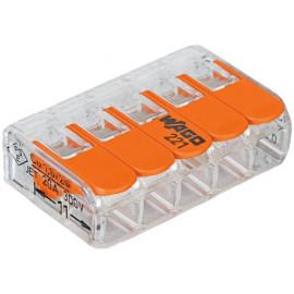 Spezialverbinder WAGO Compact Klemme 5-polig, 0,2-4mm²