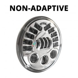 """LED Hauptscheinwerfer 7"""" Speaker Model 8790 Series für Motorrad, nicht adaptiv"""