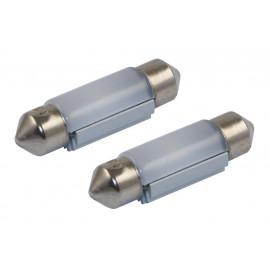 2er Set LED Soffitten 36mm weiss, 24V