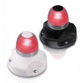 LED Vollkreislaterne Rot 2 sm mit BSH-Zulassung