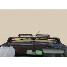 LED Zusatzfernlicht E-geprüft Audi A4 Avant MY08-15 für Dachreling