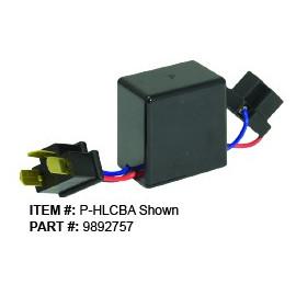 H4 Adapter für Vision-X Vortex LED Scheinwerfer, Low und High Beam leuchten bei Fernlicht zusammen