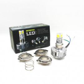 LED Ersatz-Leuchtmittel H6 für Motorrad 8-36V DC, symmetrisches Licht