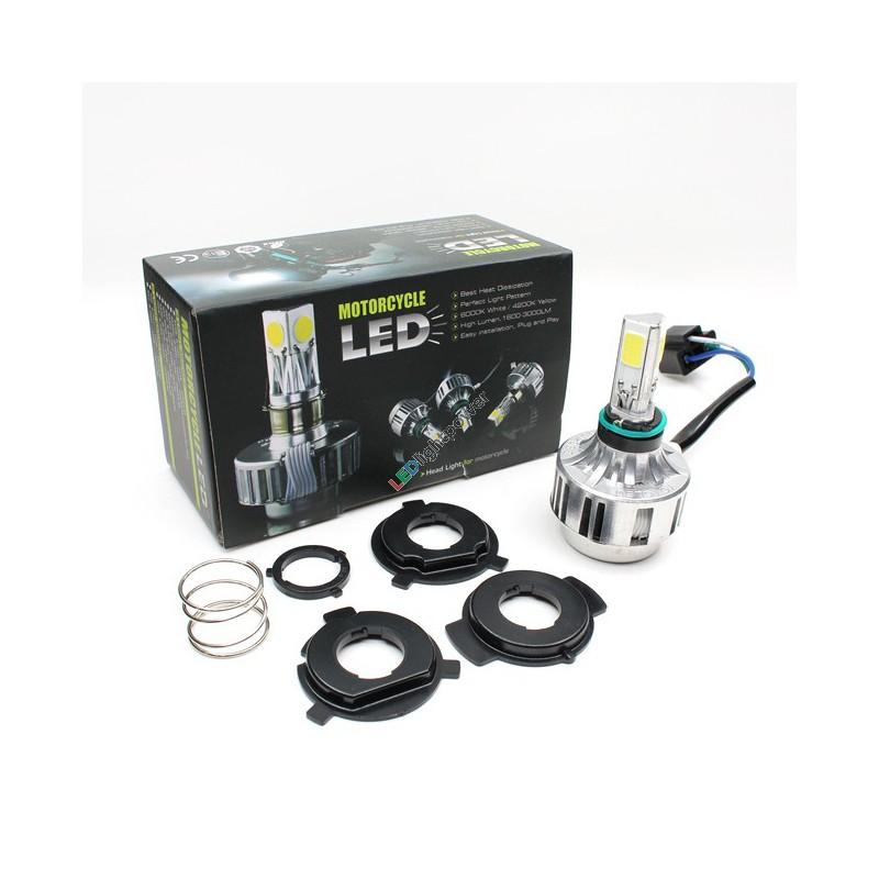 led ersatz leuchtmittel h6 f r motorrad 8 80v ac symmetrisches licht. Black Bedroom Furniture Sets. Home Design Ideas