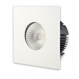 Blende quadratisch zu LED Einbauleuchte, Spot 10W IP65