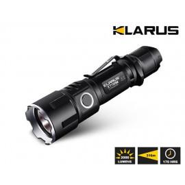 Klarus XT11GT LED Taschenlampe, 2000 Lumen,  inkl. Akku und div. Zubehör