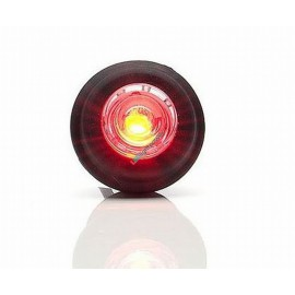 Mini Positionsleuchte 1 LED 12-24V, rot