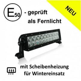 LED Fernlicht-Balken 60W, E-geprüft, 12-24V, mit Scheibenheizung