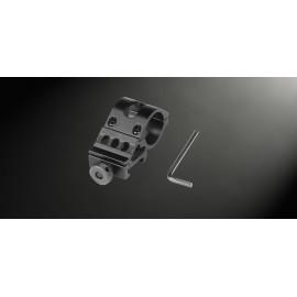 Gewehrhalter für Taschenlampe mit 1 Zoll Durchmesser