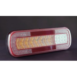 LED Schlussleuchte mit dynamischem Blinker 283x100x29, 12-24V