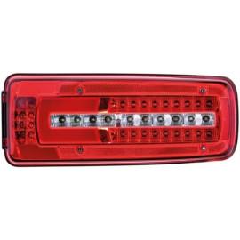 Ersatzlichtscheibe zu Hella LED Schlussleuchte 400x160x88