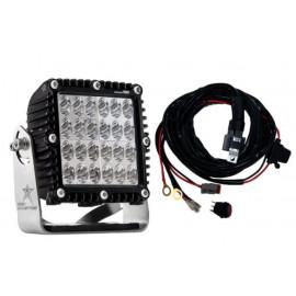 LED Hochleistungs Zusatzscheinwerfer RIGID Q-Series E-geprüft