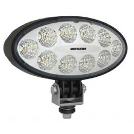 LED Arbeitsscheinwerfer WESEM oval 4000, 12-24V