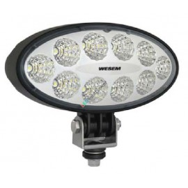 LED Arbeitsscheinwerfer WESEM oval 3000, 12-24V