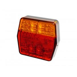 LED Schlussleuchte 100x95x32, 12V mit Blinkerüberwachung